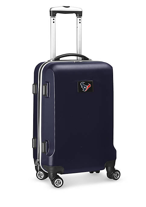 Houston Texans 20-in. 8 wheel ABS Plastic Hardsided Carry-on
