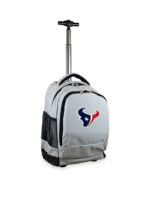 Mojo Houston Texans Premium Wheeled Backpack
