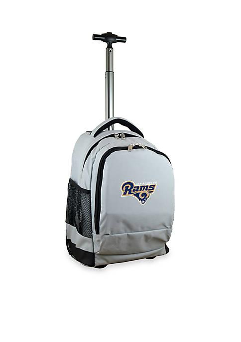 Mojo Los Angeles Rams Premium Wheeled Backpack