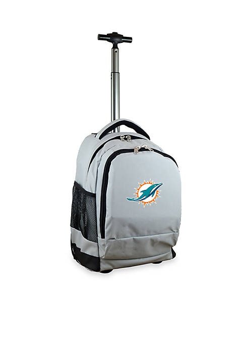 Mojo Miami Dolphins Premium Wheeled Backpack