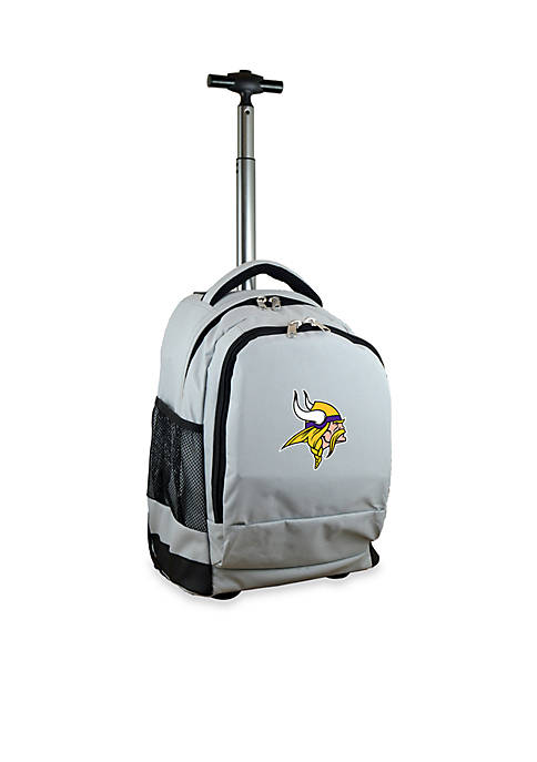 Mojo Minnesota Vikings Premium Wheeled Backpack