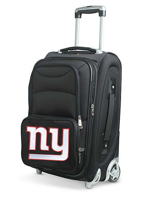 Denco NFL New York Giants Luggage Carry-On Rolling