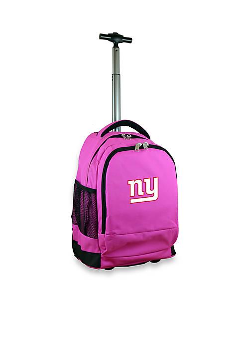 Mojo New York Giants Premium Wheeled Backpack