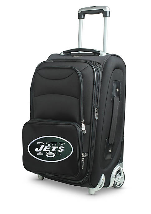 Denco NFL New York Jets Luggage Carry-On Rolling