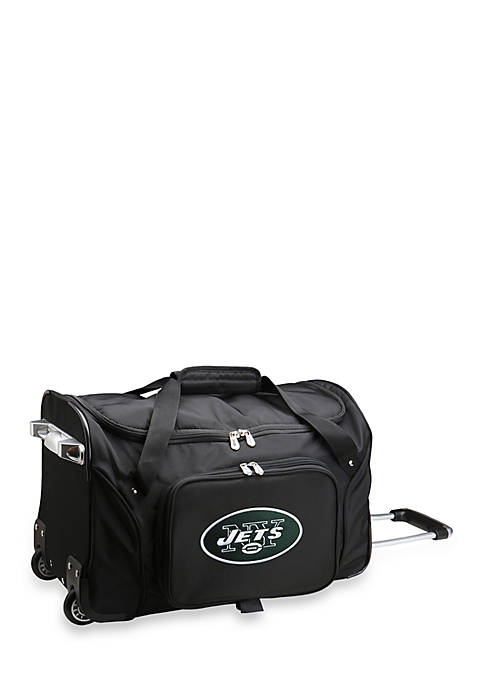 Denco NFL New York Jets 22-in. Wheeled Duffel