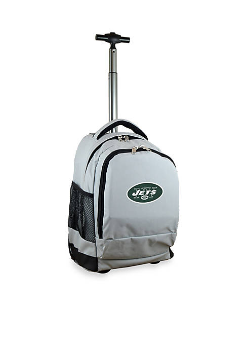 Mojo New York Jets Premium Wheeled Backpack