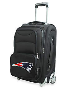 NFL New England Patriots Luggage Carry-On 21-in. Rolling Softside Nylon Bag