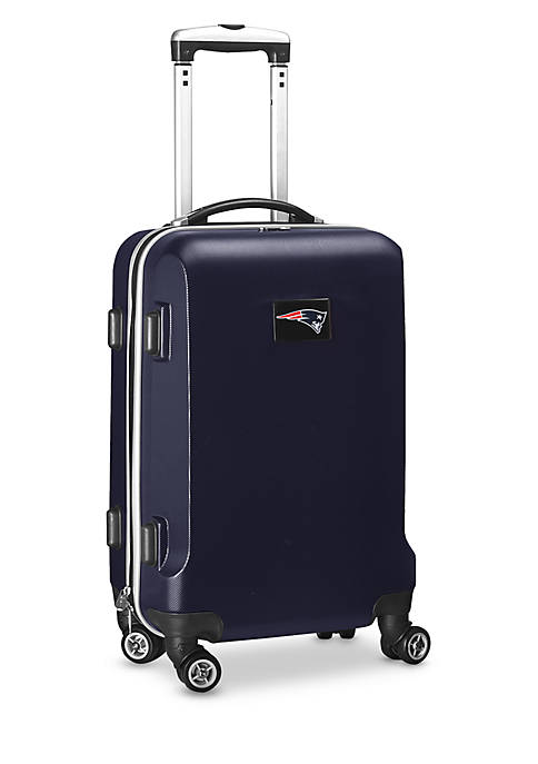 New England Patriots 20-in. 8 wheel ABS Plastic Hardsided Carry-on