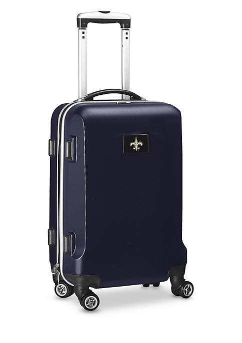 New Orleans Saints 20-in. 8 wheel ABS Plastic Hardsided Carry-on