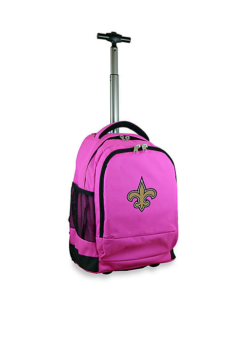 Mojo New Orleans Saints Premium Wheeled Backpack