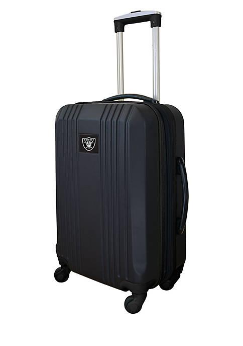 Mojo NFL Oakland Raiders Hardcase Carry-on Luggage