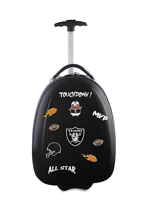 NFL Oakland Raiders Kids Pod Luggage in Black