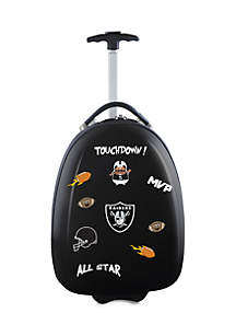 NFL Oakland Raiders Kids Pod Luggage in Black