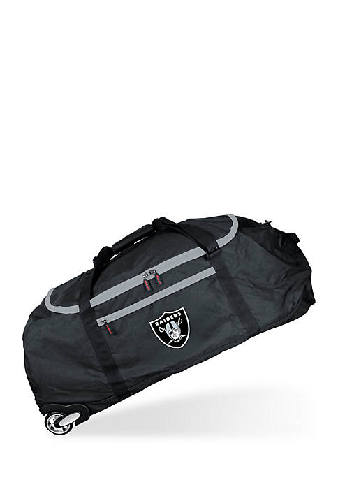 Mojo Oakland Raiders 36-in. Collapsible Duffel