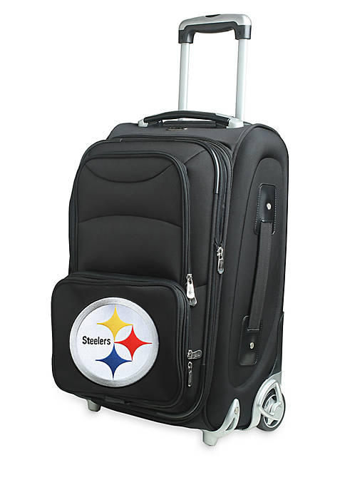 Denco NFL Pittsburgh Steelers Luggage Carry-On 21-in. Rolling