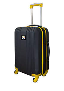 Mojo NFL Pittsburgh Steelers 21-in. Hardcase Carry-on Luggage