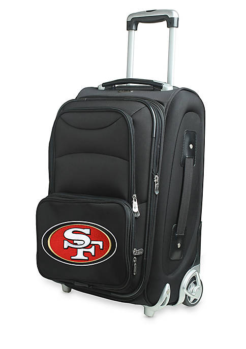 Denco NFL San Francisco 49ers Luggage Carry-On Rolling