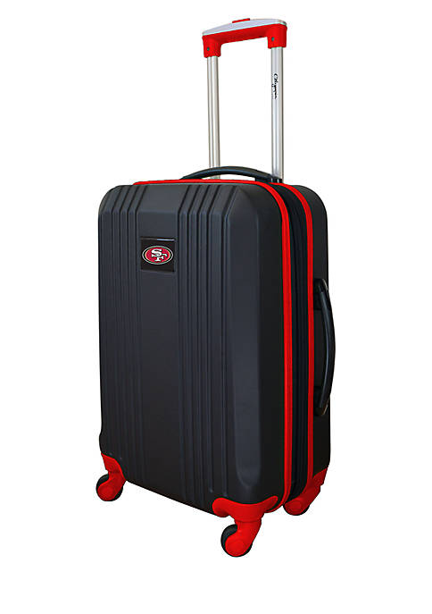 Mojo NFL San Francisco 49ers 21-in. Hardcase Carry-on