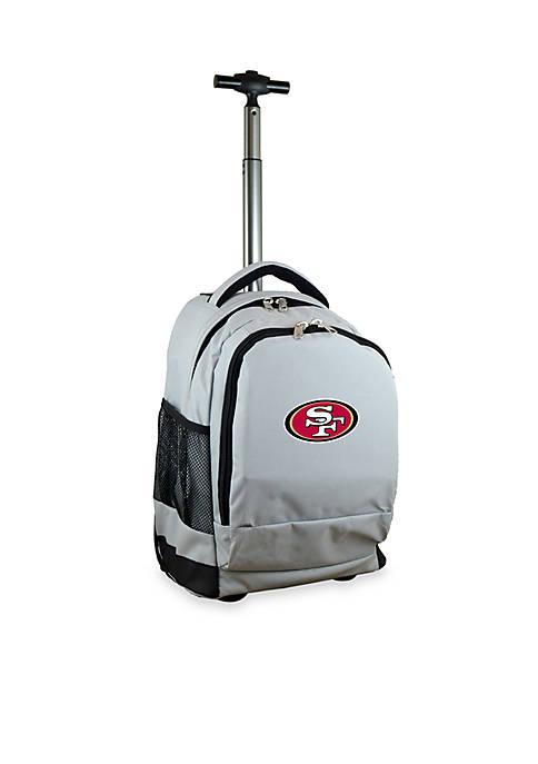 Mojo San Francisco 49ers Premium Wheeled Backpack