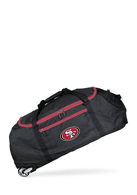 San Francisco 49ers 36-in. Collapsible Duffel