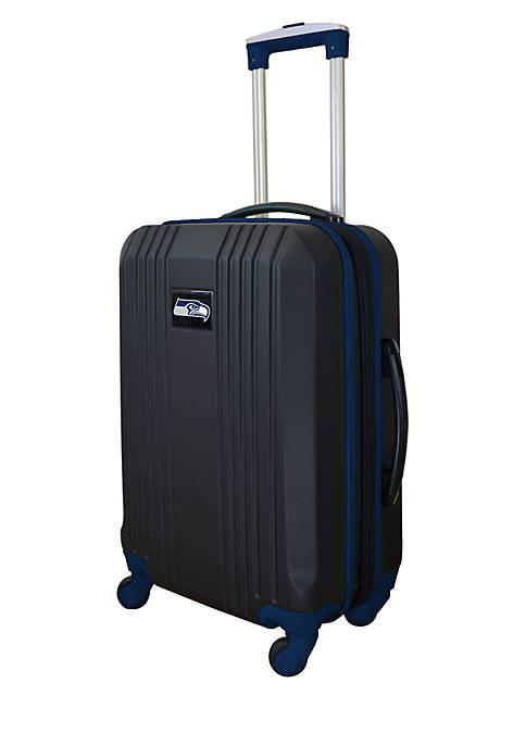 Mojo NFL Seattle Seahawks 21-in. Hardcase Carry-on Luggage