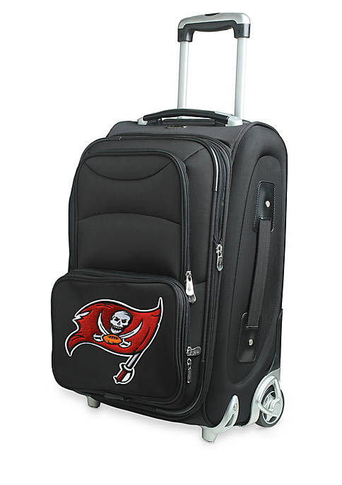 Denco NFL Tampa Bay Buccaneers Luggage Carry-On Rolling