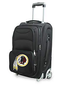 NFL Washington Redskins  Luggage Carry-On Rolling Softside Nylon in Black