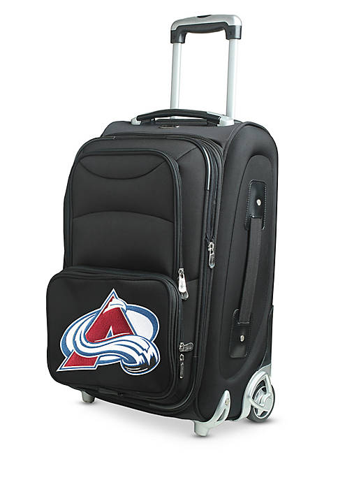 NHL Colorado Avalanche Luggage Carry-On Rolling Softside Nylon