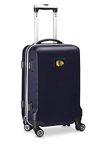 Chicago Blackhawks 20-in. 8 wheel ABS Plastic Hardsided Carry-on