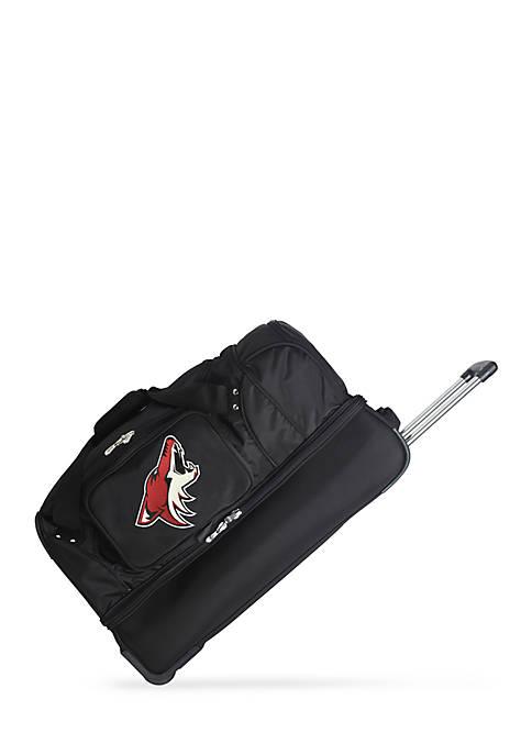 Denco NHL Phoenix Coyotes Wheeled Duffel Nylon Bag