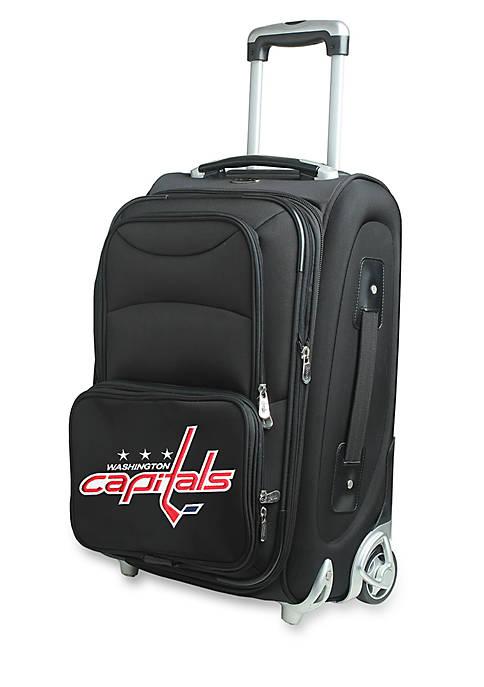 NHL Washington Capitals Luggage Carry-On Rolling Softside Nylon