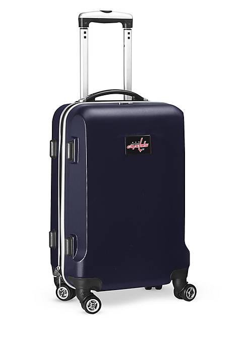 Washington Capitals 20-in. 8 wheel ABS Plastic Hardsided Carry-on
