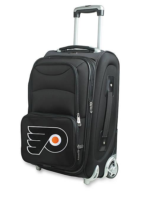Denco NHL Philadelphia Flyers Luggage Carry-On Rolling Softside