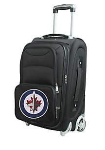 NHL Winnipeg Jets Luggage Carry-On Rolling Softside
