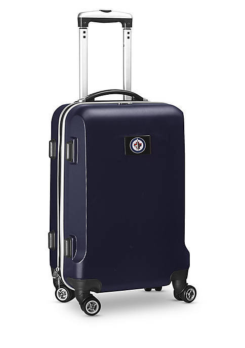 Winnipeg Jets 20-in. 8 wheel ABS Plastic Hardsided Carry-on