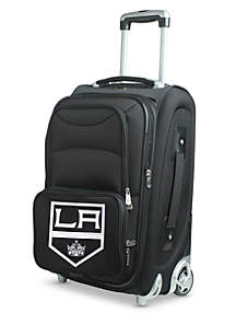Denco NHL Los Angeles Kings Luggage Carry-On Rolling Softside