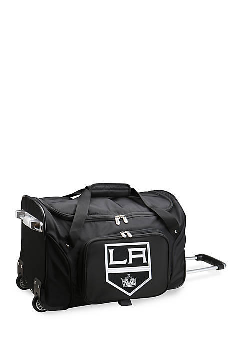 NHL Los Angeles Kings Wheeled Duffel Nylon Bag