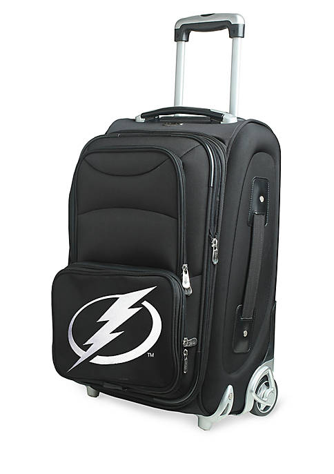 NHL Tampa Bay Lightning Luggage Carry-On Rolling Softside