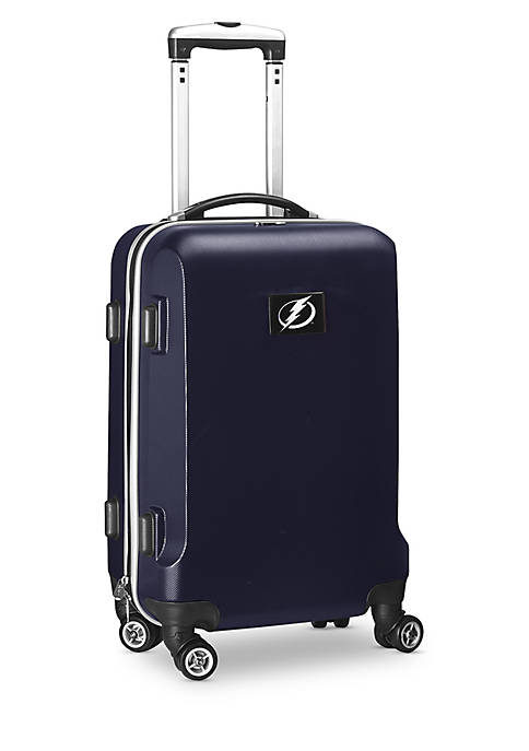 Tampa Bay Lightning 20-in. 8 wheel ABS Plastic Hardsided Carry-on