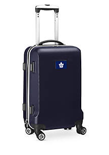 Toronto Maple Leafs 20-in. 8 wheel ABS Plastic Hardsided Carry-on