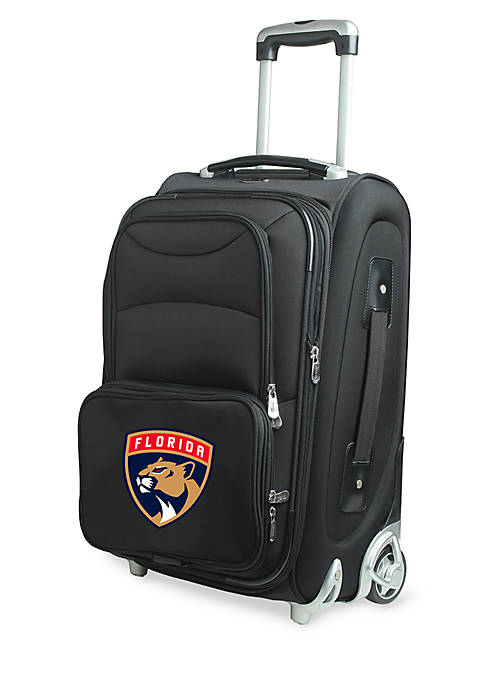 NHL Florida Panthers Luggage Carry-On 21-in. Rolling Softside Nylon in Black