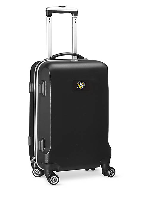 Pittsburgh Penguins 20-in. 8 wheel ABS Plastic Hardsided Carry-on