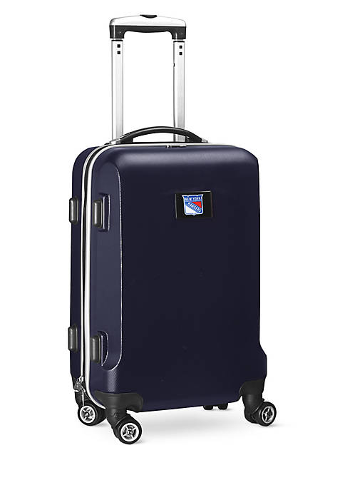 New York Rangers 20-in. 8 wheel ABS Plastic Hardsided Carry-on