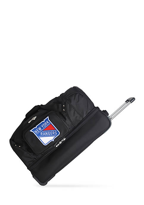 Denco NHL New York Rangers 27-in. Wheeled Duffel