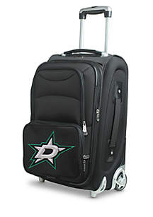 NHL Dallas Stars  Luggage Carry-On Rolling Softside Nylon