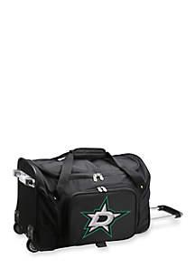 NHL Dallas Stars Wheeled Duffel Nylon Bag