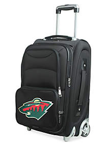 NHL Minnesota Wild  Luggage Carry-On 21-in. Rolling Softside
