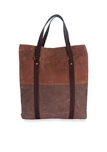 CB STATION Waxed Canvas Voyager Tote