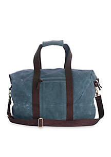 CB STATION Waxed Canvas Voyager Weekender