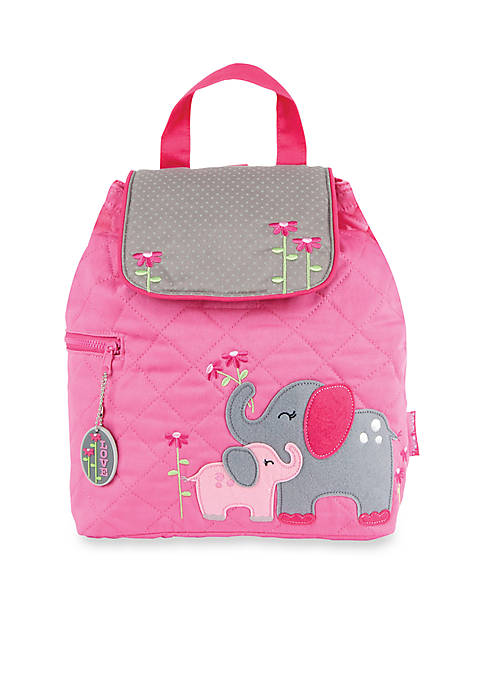 Quilted Elephant Backpack